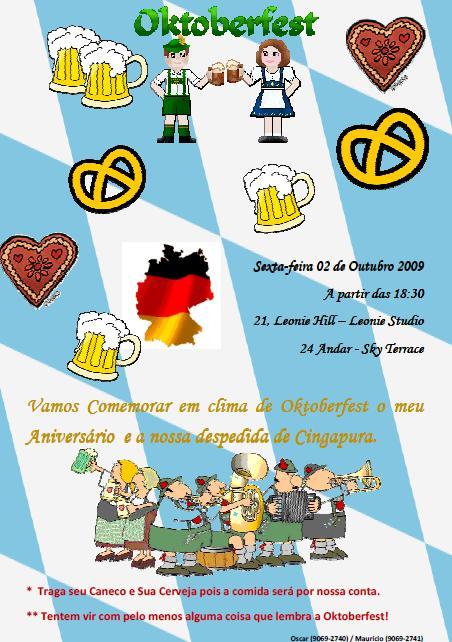 Convite Oktoberfest