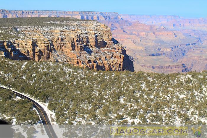 Dia fantástico para sobrevoar o Grand Canyon