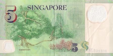 5 Dolar Singapura