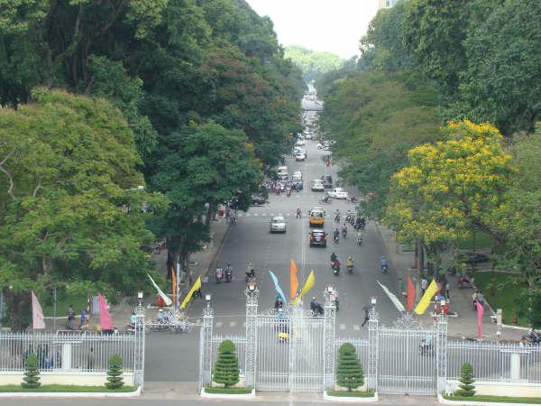 Vista do terraco do Palacio