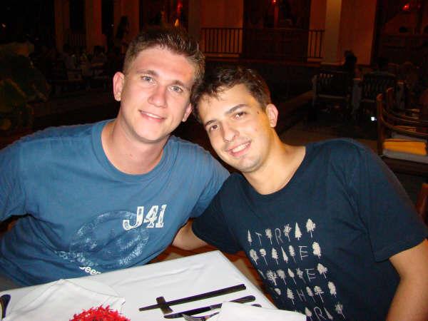 Oscar e Mauricio