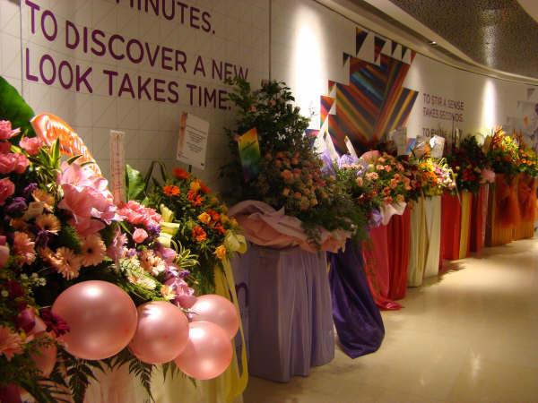 Flores Inauguracao