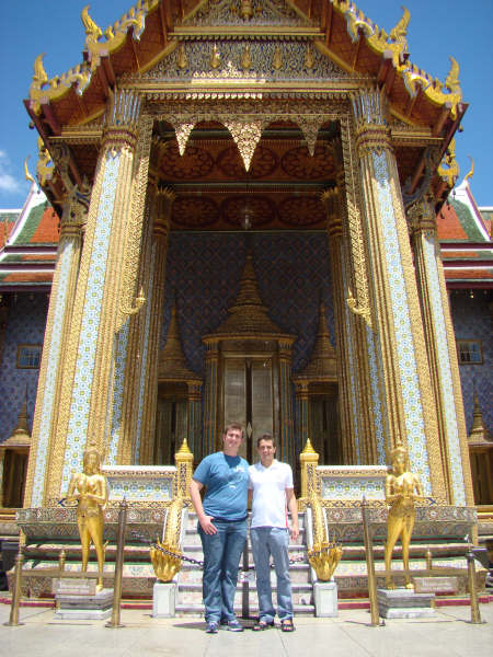 Entrada do Templo mais importante da Tailandia