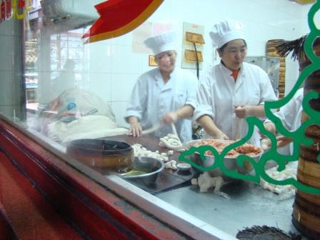 Fazendo Xiaolongbao em Shanghai