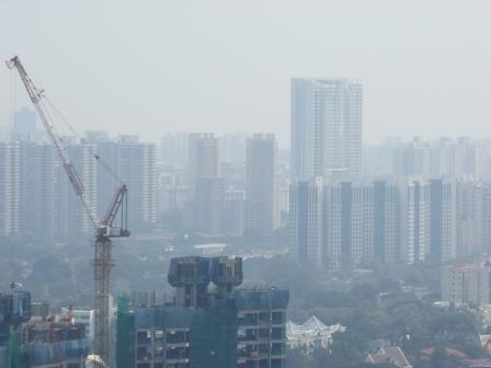 Fumaca em Singapura
