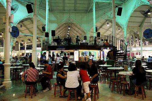 Hawker Centre em Singapura