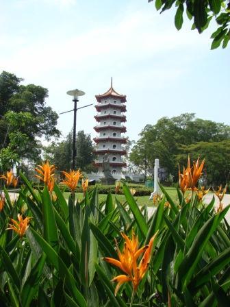 Jardim Chines em Singapura