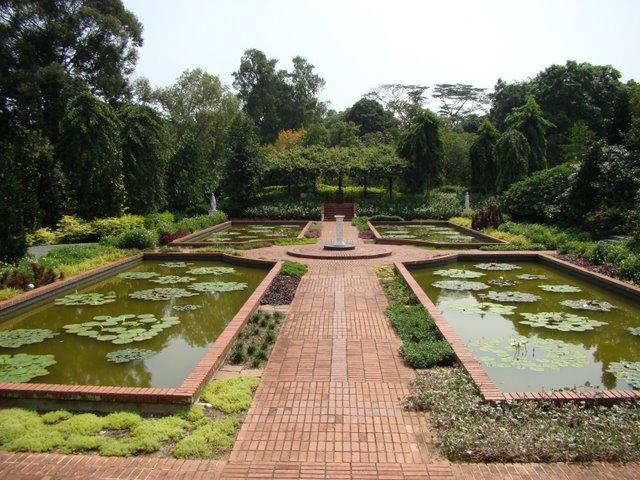 Jardim das Ninfeias em Singapura