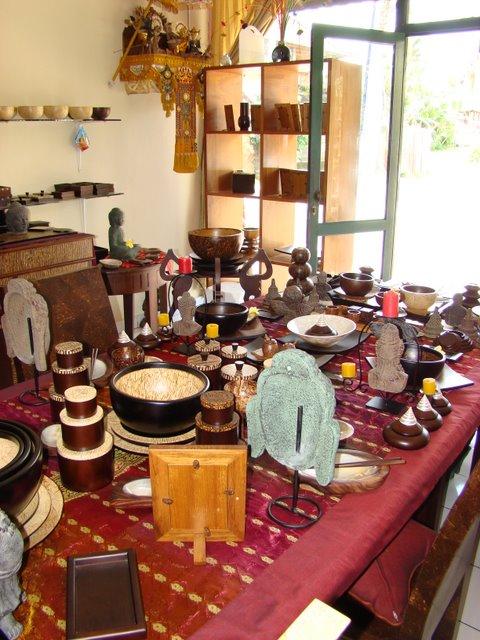 Loja Artesanatos em Bali