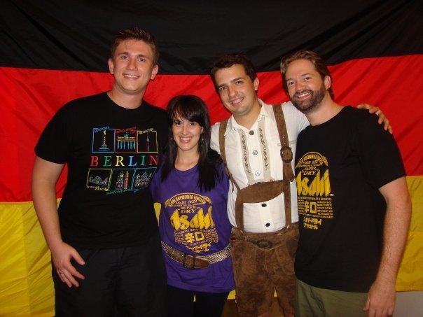 Mau, Paola, Oscar e Shaun