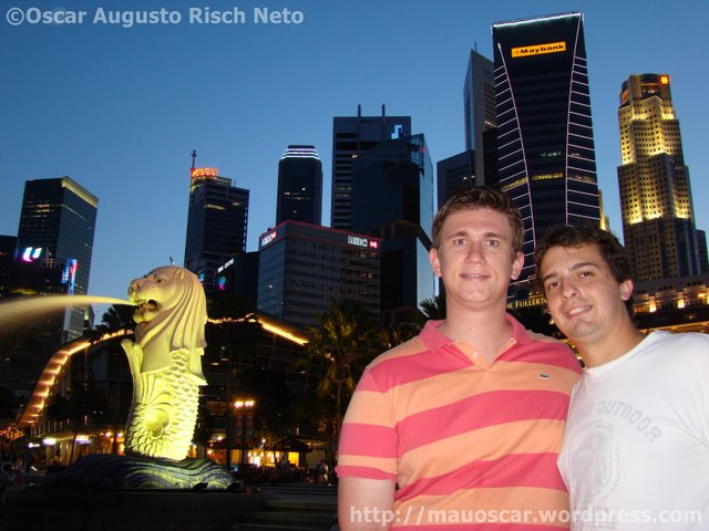 Mauoscar em Singapura