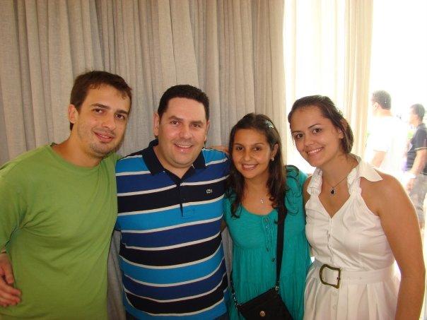 Oscar, Gustavo, Ana e Fabi