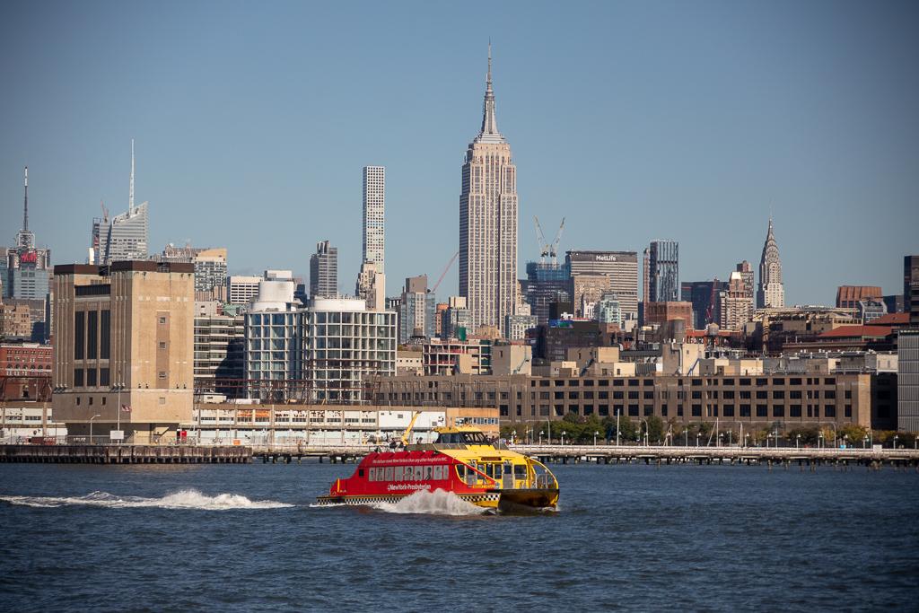 Passeio de Barco pelo Hudson River em Nova York