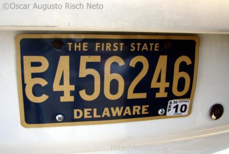 Placa de Delaware