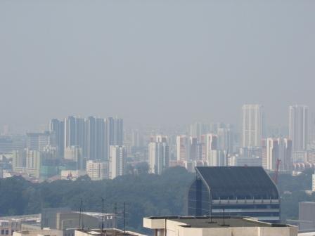 Poluicao Singapura