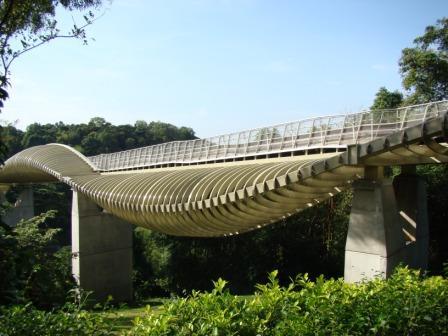 Ponte em forma de Ondas