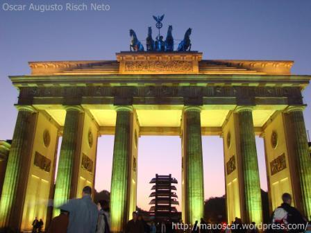 Portao de Brandenburgo - Amarelo