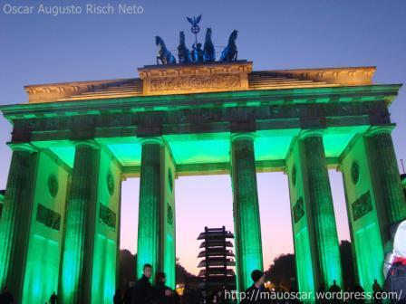 Portao de Brandenburgo - Verde