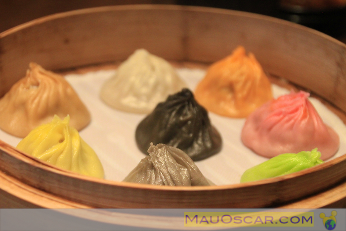 Rainbow Dumplings do Paradise Dynasty em Cingapura