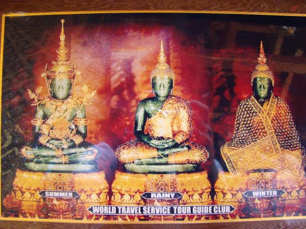Roupas do Buda Esmeralda