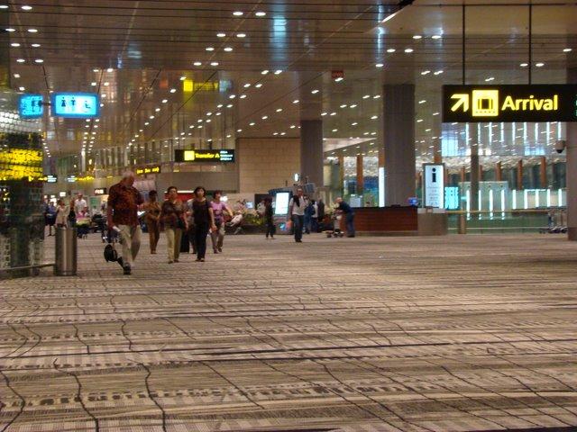 Area Embarque Terminal 3
