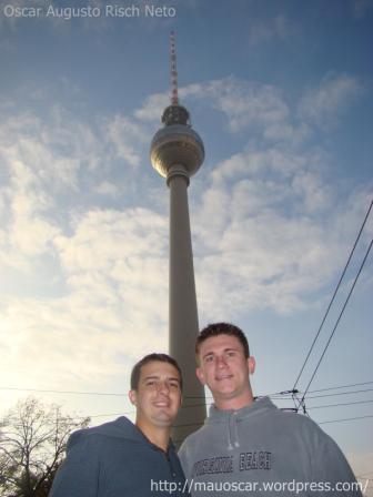 Torre de TV - Mauoscar em Berlin
