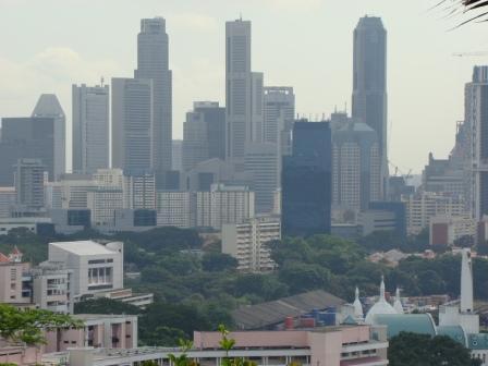 Vista de Singapura